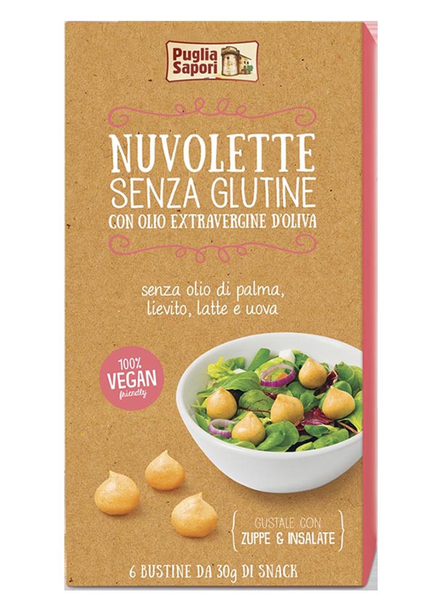 Insalata primaverile con Nuvolette gluten free