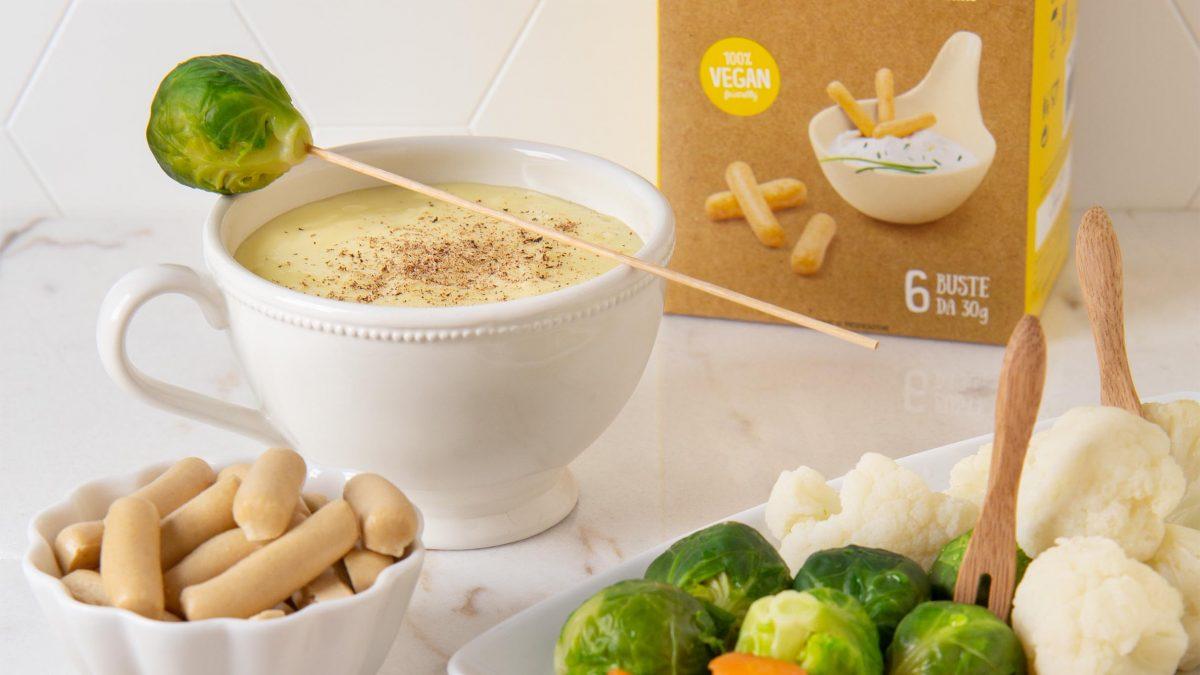 fonduta con mini grissini gluten free